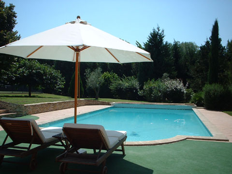 aix location vacance villa piscine tennis